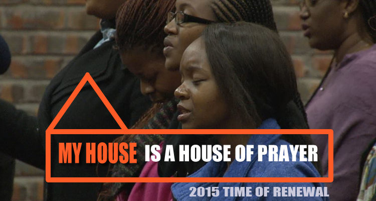 my house is a house of prayer