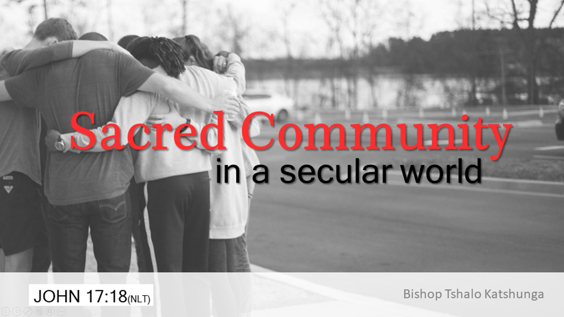 The Sacred Community in a Secular World
