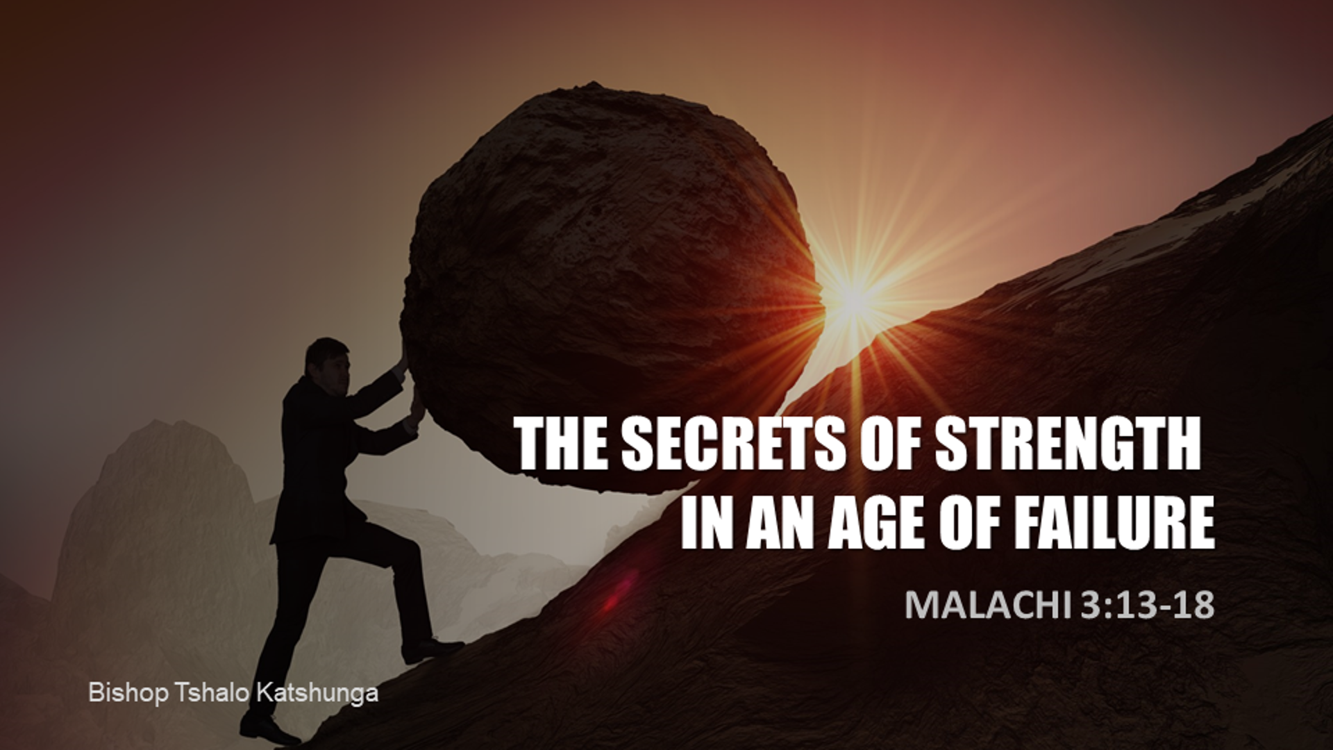 The Secrets of Strength in an Age of Failure