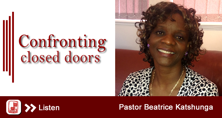 confronting closed doors